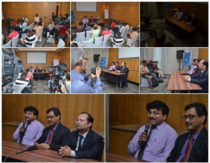 Meeting the Press during ICRA- Pain 2016 Conference Dr Debjyoti Dutta, Dr Gautam